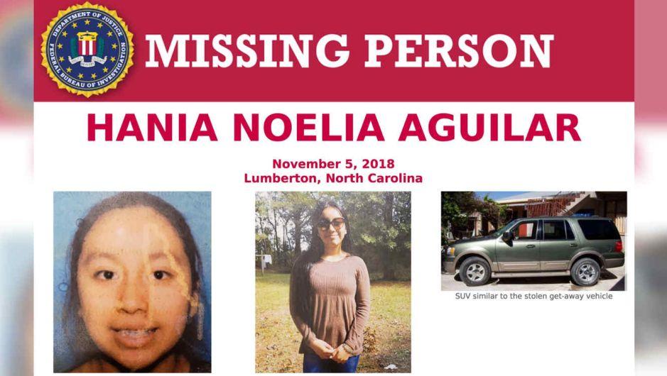 $30 mil de recompensa para pistas sobre niña latina secuestrada y asesinada en Carolina del Norte