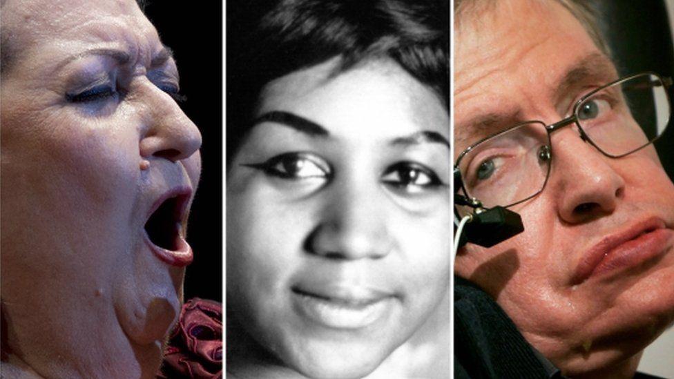 Stephen Hawking, Avicii, Anthony Bourdain y otros famosos que murieron en 2018