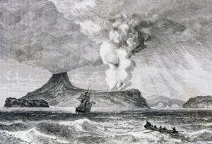 """Tsunami en Indonesia: el volcán """"padre"""" del Anak Krakatoa, cuya erupción fue equivalente a 13.000 bombas de Hiroshima"""
