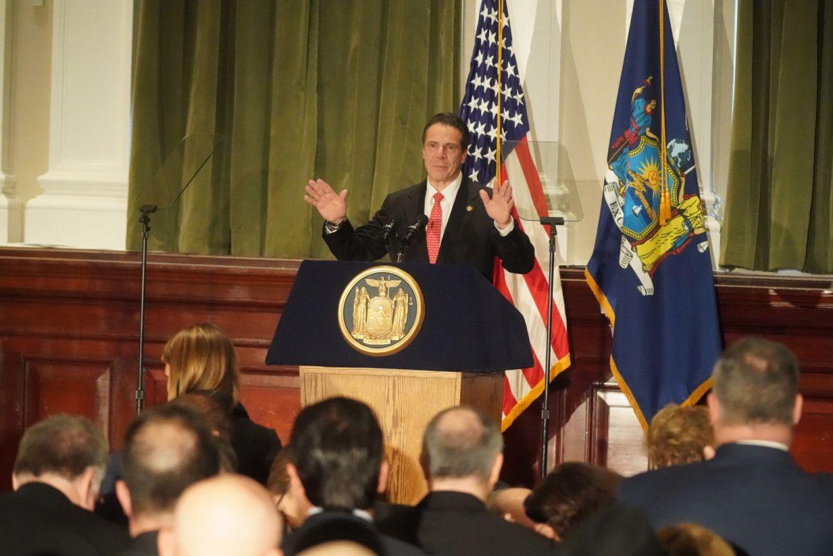 Gobernador Cuomo promete impulsar legalización de la marihuana en 2019