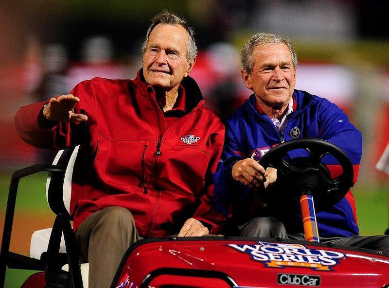 George H.W. Bush fue un gran apasionado de los deportes, en especial el béisbol