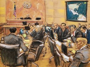 """La prohibición que impuso el juez en el juicio de """"El Chapo"""""""