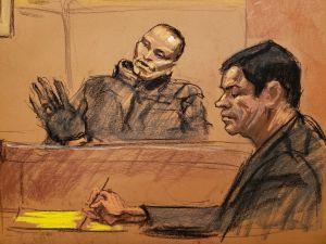 "Frente a ""El Chapo"", el narco ""La Chupeta"" confiesa que pagó $338,776 por enviar matar a alguien"