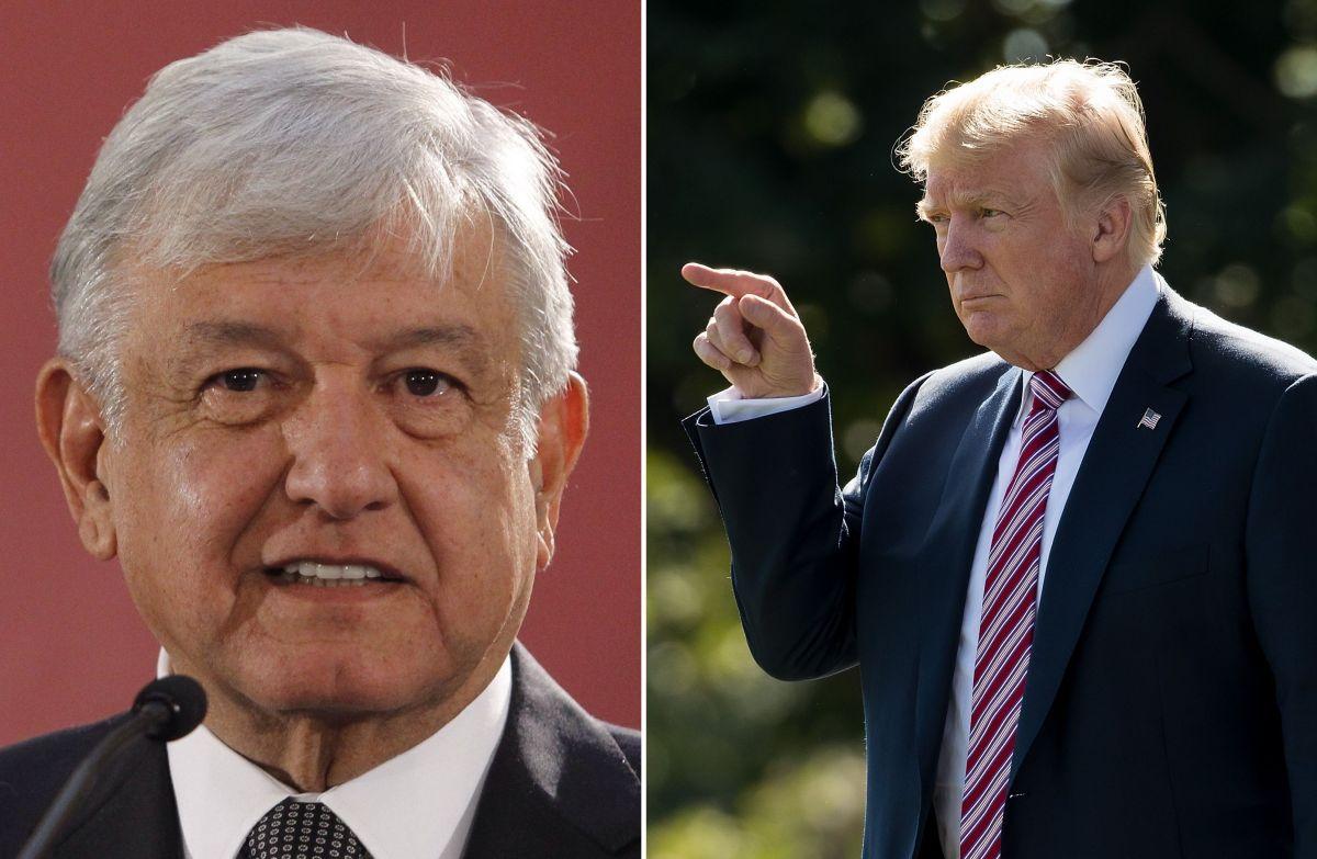 """Trump ataca a Gobierno de AMLO por inmigrantes: """"¡Sólo habla y no hace nada!"""""""