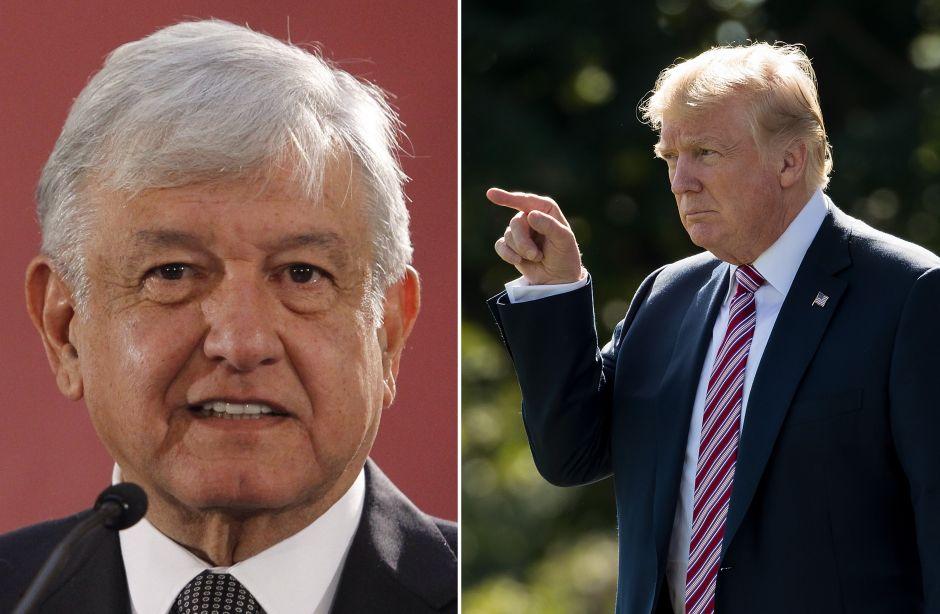 AMLO acepta decisión de Trump de enviar a México a inmigrantes de otros países