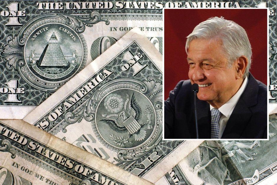 Peso mexicano entusiasma por avanzar frente al dólar… y esta vez AMLO influyó