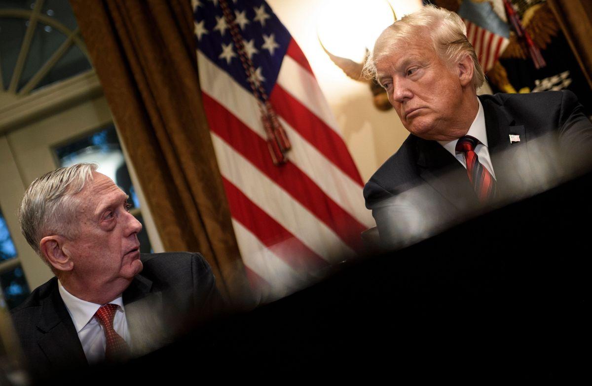 Ruptura total: Trump confirma que Mattis saldrá del Pentágono antes de lo pactado