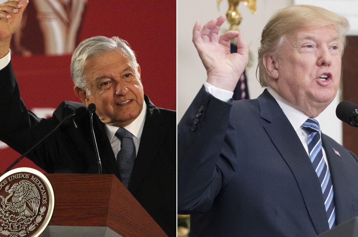 Trump acepta apoyar plan migratorio de AMLO que incluye a Centroamérica