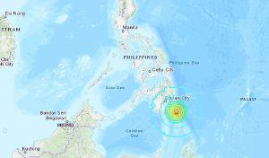 Terremoto de magnitud 7 sacude a Filipinas, cancelan alerta de tsunami