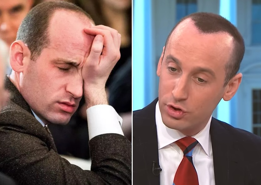El asesor de Trump que más ataca a inmigrantes desata burlas por su cabello falso