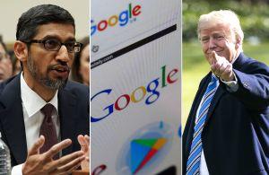 """Google tuvo que explicar al Congreso por qué aparece Trump cuando alguien busca la palabra """"idiota"""""""