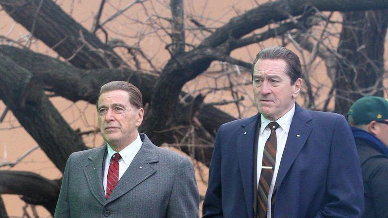 Al Pacino y Robert de Niro en The Irishman. / Foto: Netflix