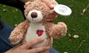 Recibe oso de peluche de amigo secreto y descubre restos humanos en su interior