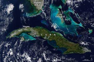 Satélite Terra de NASA capta la curiosa belleza natural de Cuba
