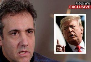 """Cohen termina de hundir a Trump : """"él sabía que los pagos estaban mal"""""""