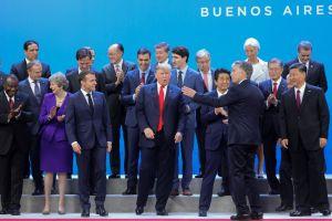 """Video de Trump diciendo """"sáquenme de aquí"""" en el G20 se vuelve viral"""