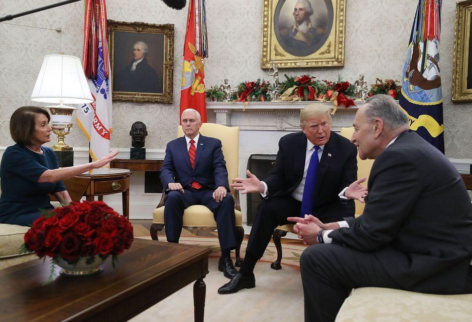 """Trump: """"Estoy orgulloso de cerrar el gobierno por la seguridad fronteriza"""""""