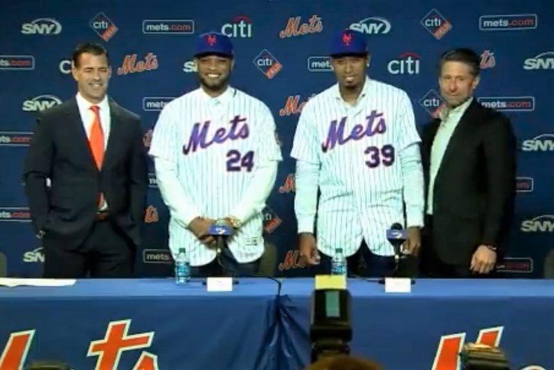Mets presume a sus nuevas estrellas: Robinson Canó y Edwin Díaz