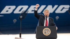 """Boeing: la """"relación especial"""" entre el gobierno de Trump y el gigante aeronáutico"""