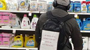 Un hombre busca un riñón para su mujer, incluso en Target