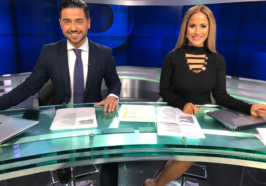 Borja Voces sorprende en su debut como conductor de 'Primer Impacto'