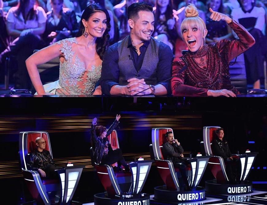 'La Voz' vs. 'Mira Quién Baila': ¿Quién ganó?