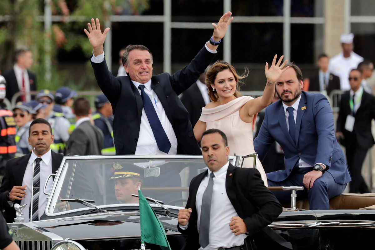 Bolsonaro y Trump intercambian mensajes como si fueran los mejores amigos
