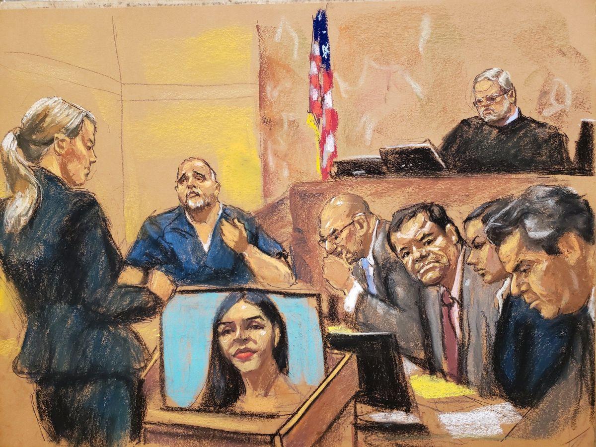 """La foto de Emma Coronel usada como prueba en juicio contra """"El Chapo"""""""