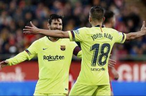 Messi volvió a anotar en triunfo del Barcelona que no afloja el liderato