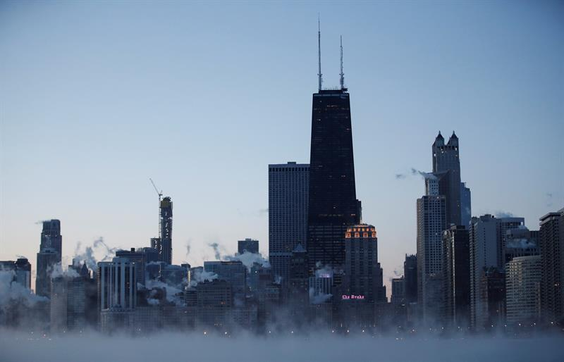 Frío polar en EEUU puede congelar a una persona en 10 minutos, advierten las autoridades