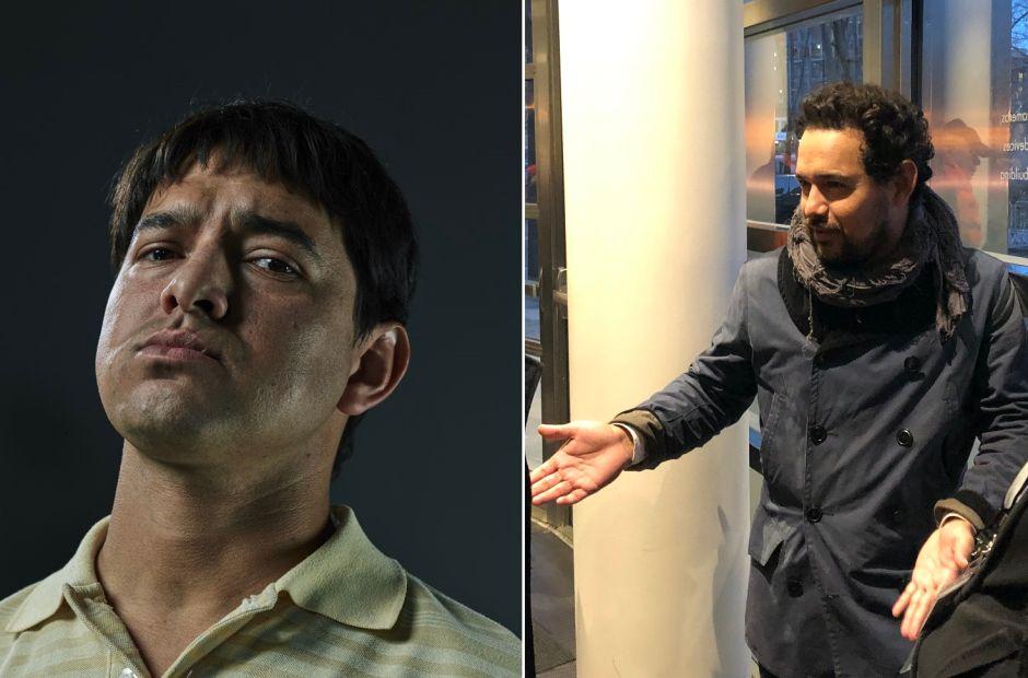 """Actor que interpreta a """"El Chapo"""" en la serie Narcos de Netflix acude al juicio de Guzmán Loera"""