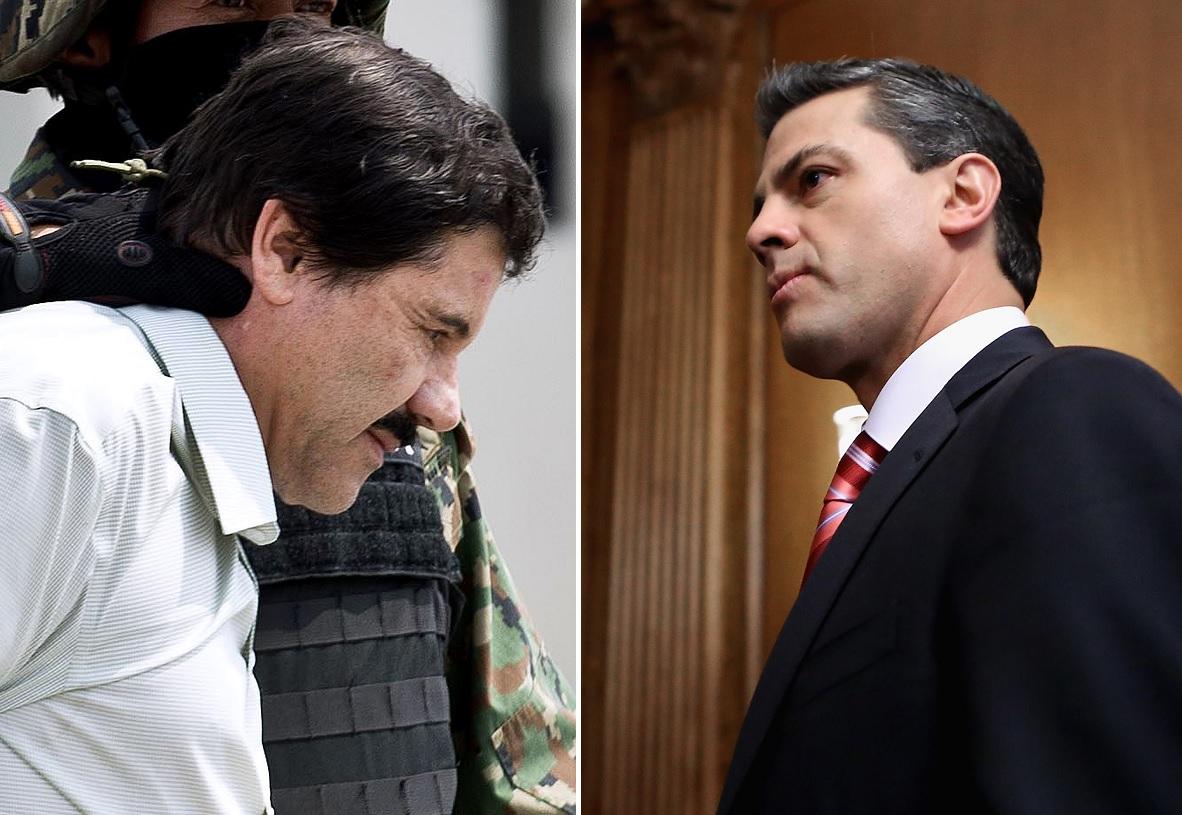 """""""El Chapo"""" habría pagado $100 millones de dólares a Enrique Peña Nieto por protección"""