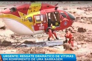 Se rompe el dique de una mina en Brasil: confirman 7 muertos y 200 desaparecidos