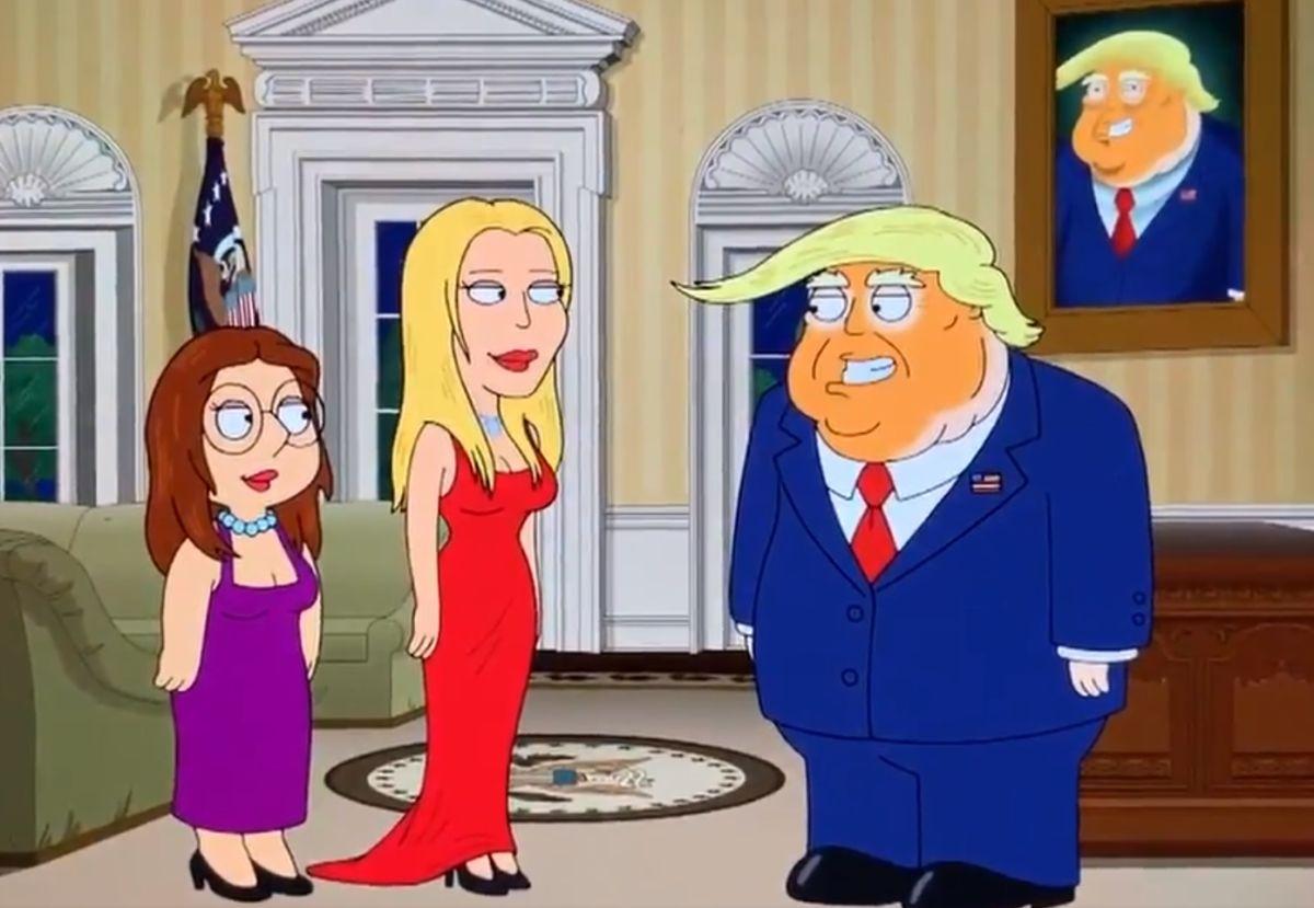 Video del programa 'Family guy' que mostrará la atracción física de Trump hacia su hija Ivanka