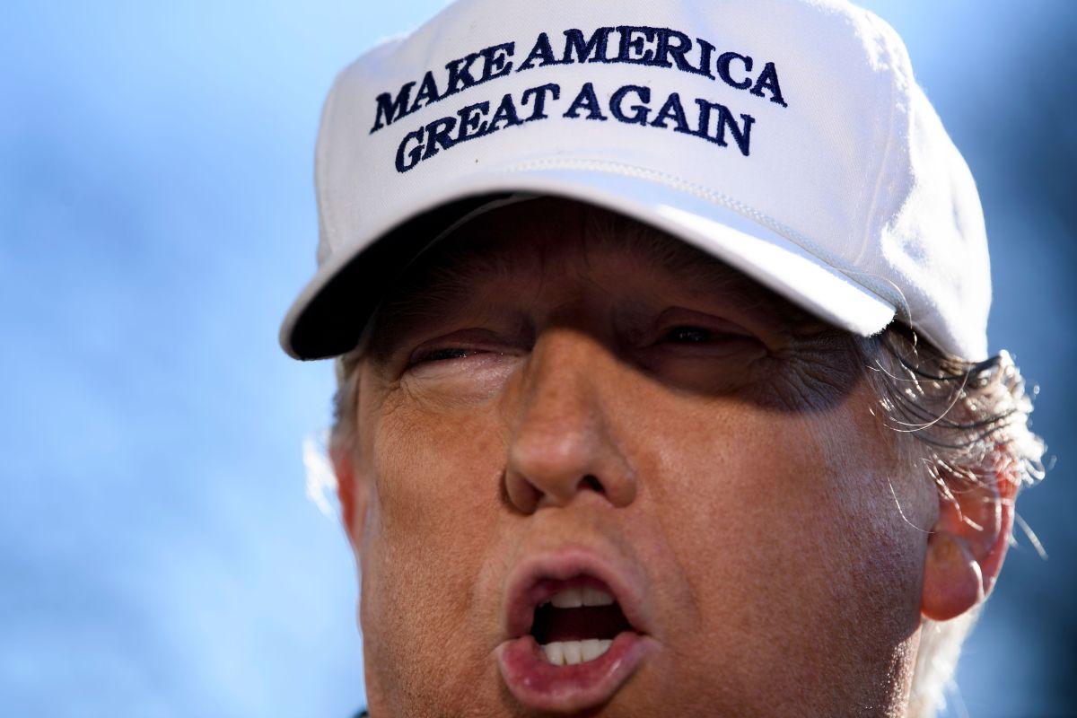 Trump presume aumento de apoyo de hispanos