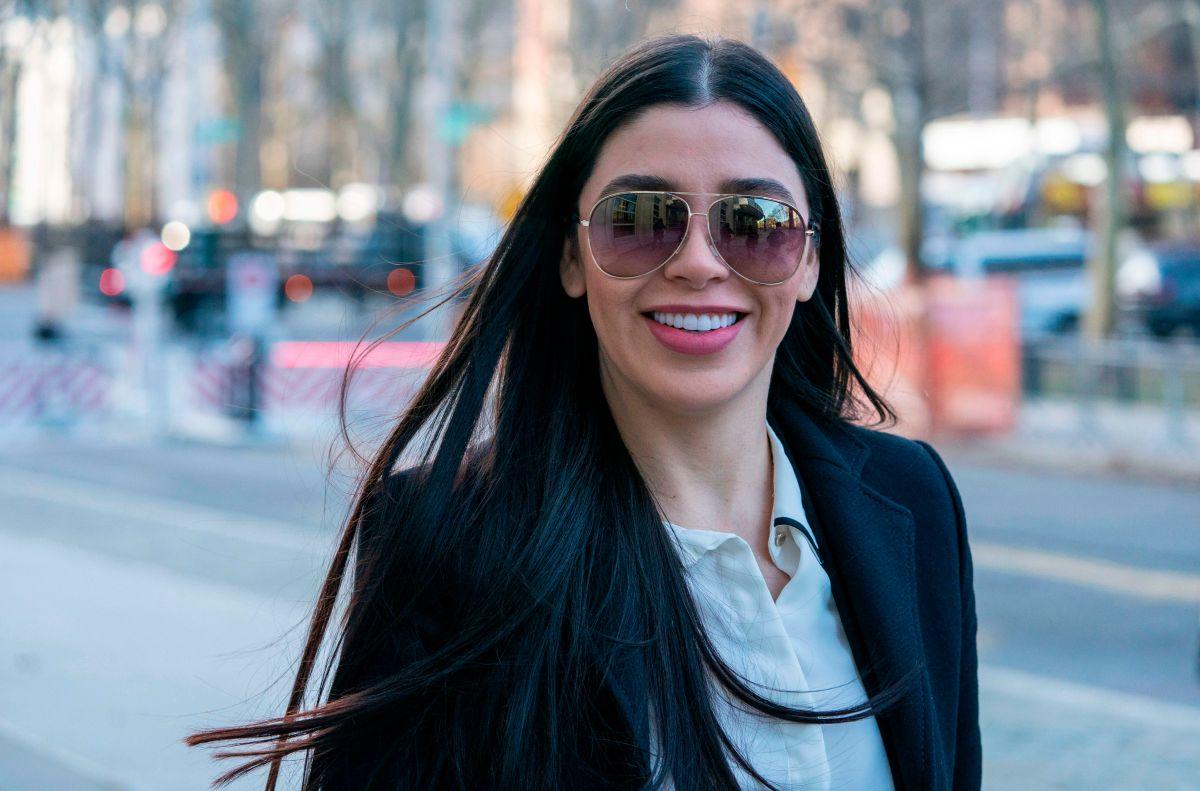 """¿Emma Coronel se burló de la amante de """"El Chapo"""" en la corte?"""