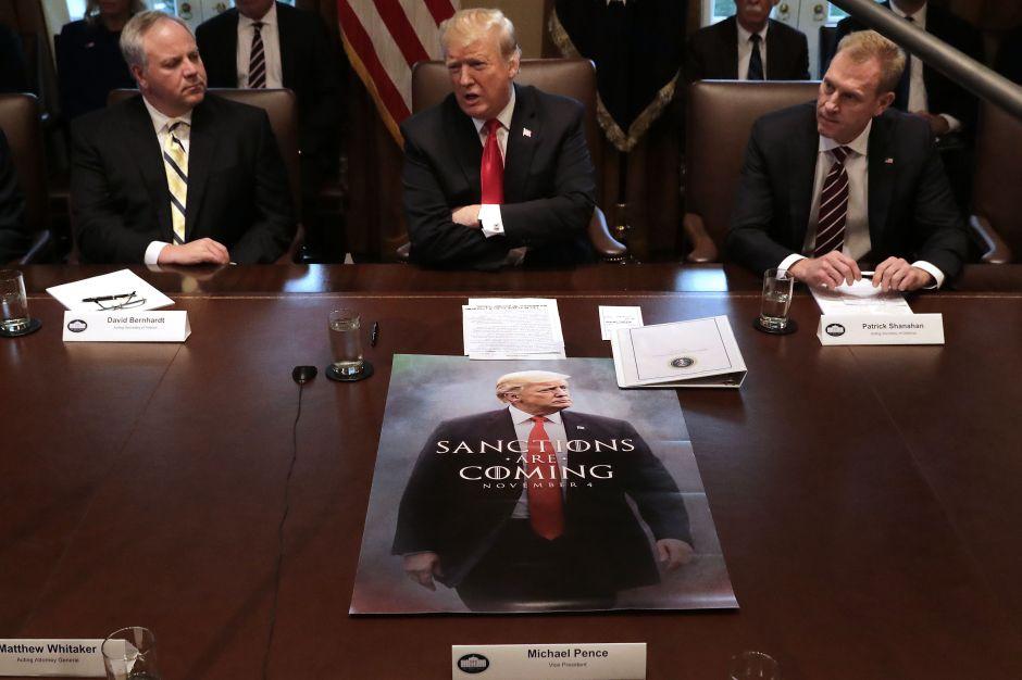 Trump siente que está en la serie 'Juego de Tronos'… con todo y muro
