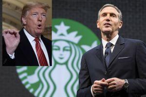 Demócratas en estado de alerta: ex presidente de Starbucks competiría contra Trump en elecciones de 2020