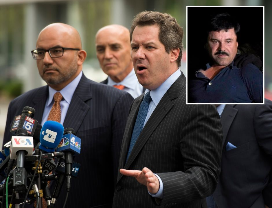 """Abogado de """"El Chapo"""" dice que no estará satisfecho hasta que vea el veredicto"""