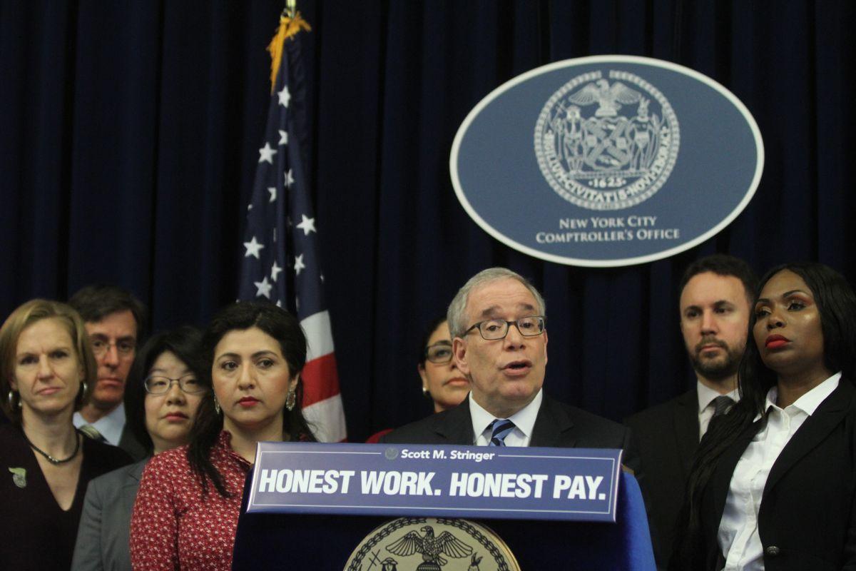 Más de $2.5 millones en sueldo recuperados esperan ser reclamados en NYC