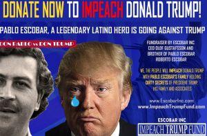 ¿Hermano de Pablo Escobar busca recolectar $50 millones para sacar a Trump de la presidencia?