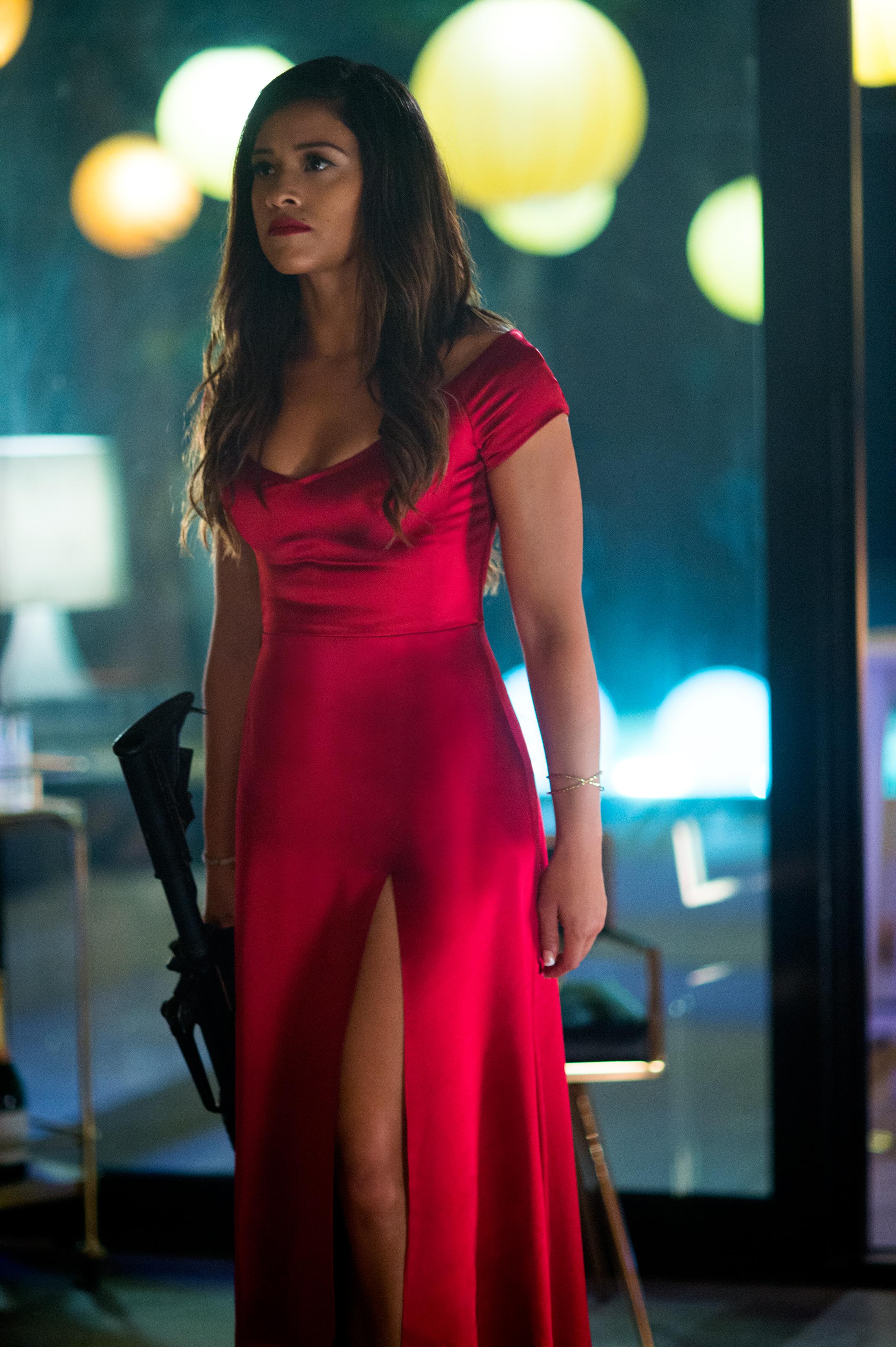 Gina Rodríguez en una escena de Miss Bala. / Foto: Sony Pictures