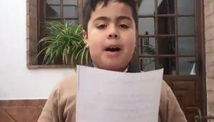 """VÍDEO: Un niño le pide a los Reyes Magos que """"maten"""" al presidente"""