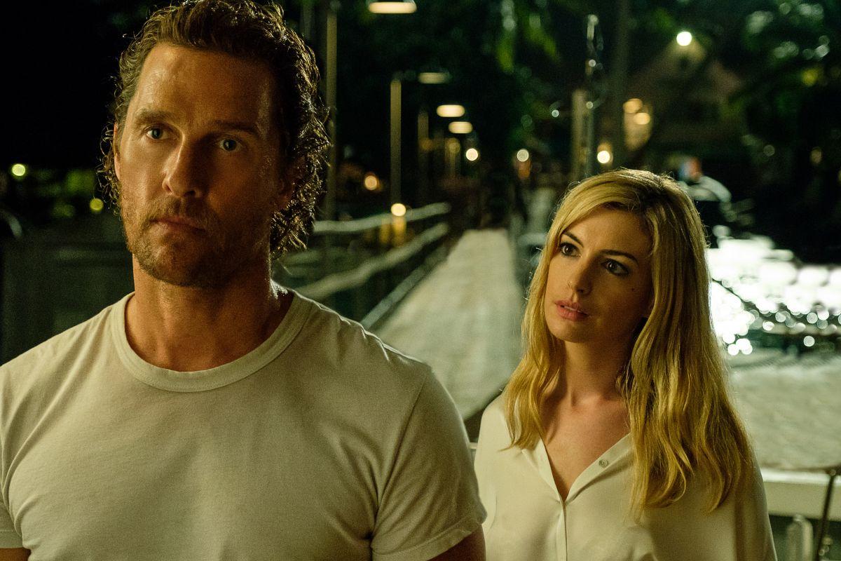 McConaughey y Hathaway en una escena de Serenity.