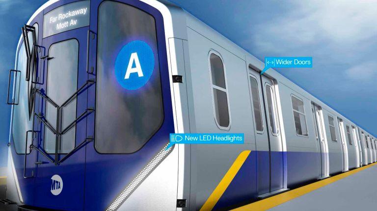 """Metro de Nueva York tendrá vagones """"futuristas"""" en 2020"""