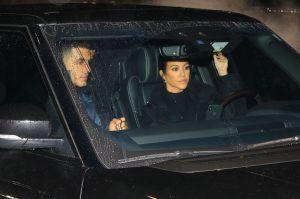 Kourtney Kardashian va a la iglesia con Younes Bendjima y Justin Bieber