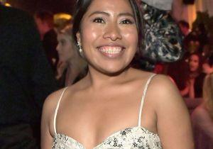 La belleza indígena de Yalitza Aparicio brilló en los Globos de Oro