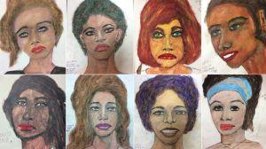 Los dibujos de uno de los peores asesinos en serie de EEUU con los que se espera identificar a sus víctimas