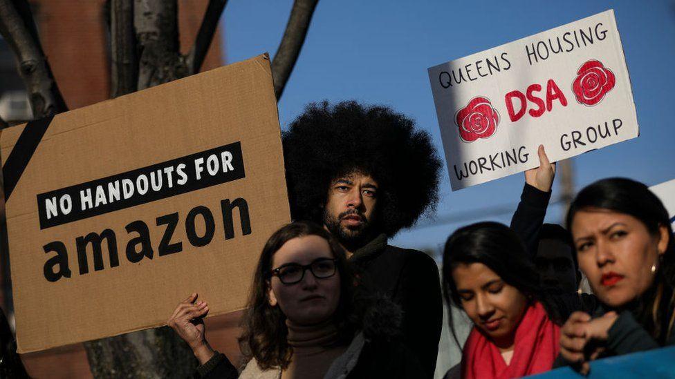 Florida coquetea con Amazon y Cuomo es pesimista de que regrese a Nueva York