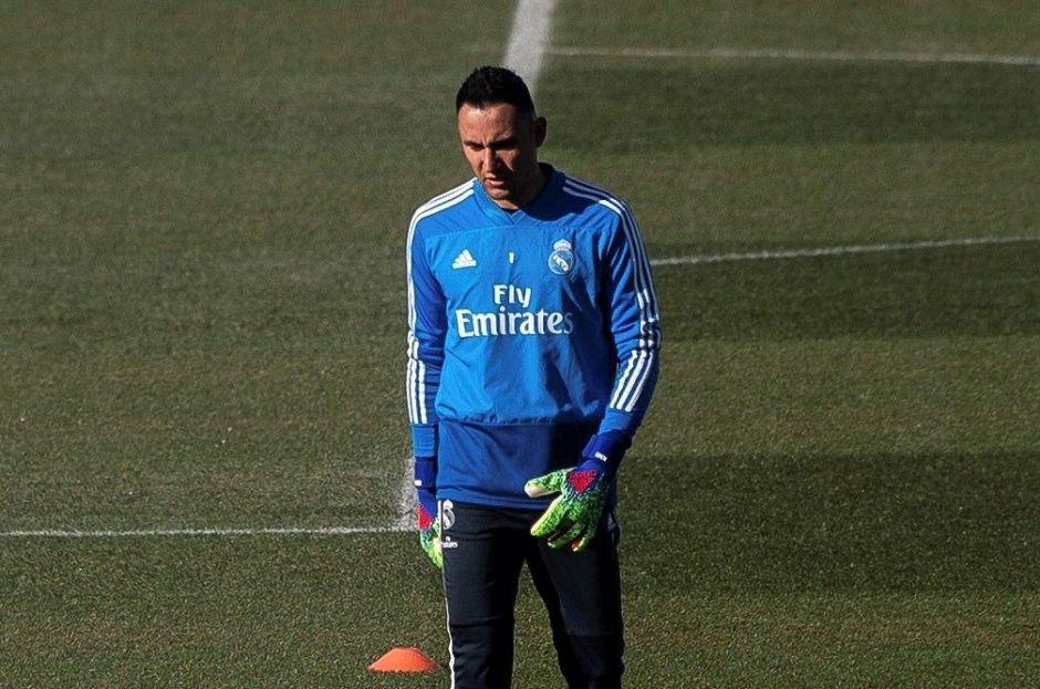 Keylor Navas juega cada mes y medio en el Real Madrid, pero dice estar feliz